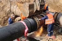Как ведется монтаж водовода, питающего водой Пролетарский округ Тулы. Фото, Фото: 22