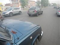 На Новомосковском шоссе столкнулись три автомобиля, Фото: 7