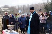 Храм в селе Ефремовского района обрел купол и крест, Фото: 6