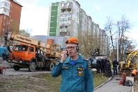 Как устраняют коммунальную аварию в Туле, Фото: 6