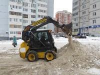 Сотрудники администрации Тулы проинспектировали уборку снега в городе, Фото: 1