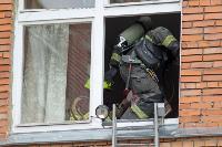 Учения МЧС: В Тульской областной больнице из-за пожара эвакуировали больных и персонал, Фото: 10