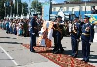 Командиру 106-й гвардейской воздушно-десантной дивизии вручено Георгиевское знамя, Фото: 1