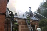Пожар в доме по ул. Рабочий проезд. 27 сентября, Фото: 16