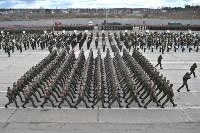 Репетиция Парада Победы в подмосковном Алабино, Фото: 4