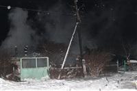В пос. Менделеевский сгорел частный дом., Фото: 11