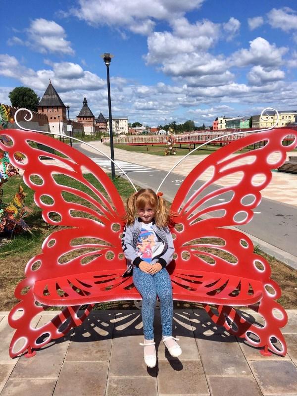 Моя бабочка)
