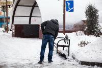 Последствия снежного циклона в Туле, Фото: 36