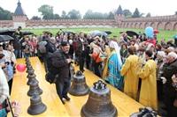 Торжественное освящение колоколов Успенского собора, Фото: 7