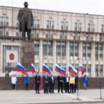 Велопробег в цветах российского флага, Фото: 7