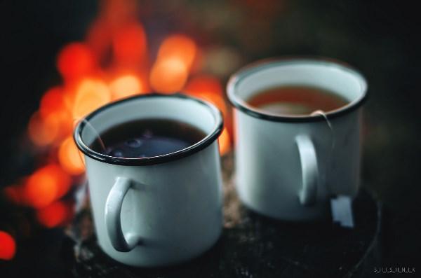 Чай на природе - самый вкусный :)