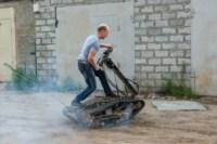 Туляк Виталий Галеев придумал сегвей на гусеницах, Фото: 23
