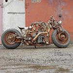 Тульский умелец создал стимпанк-мотоцикл «СССР», Фото: 2