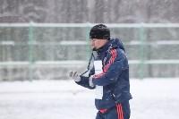 «Арсенал» готовится на снежном поле к игре против «Тосно», Фото: 21