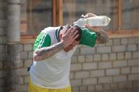 Тульские журналисты сыграли в футбол с зэками, Фото: 20
