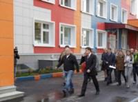 Владимир Груздев проинспектировал строительство детского сада на ул. Поперечная, Фото: 8
