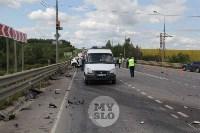 В ДТП под Тулой погибли три сотрудника УФСИН, Фото: 9