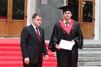 Владимир Груздев поздравил выпускников магистратуры ТулГУ, Фото: 29