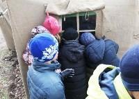 Школьники в лагере ОМОНа, Фото: 10