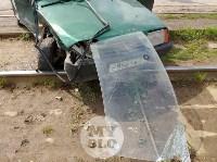Серьезное ДТП на Зеленстрое: водитель «девятки» от удара вылетел из машины, Фото: 13