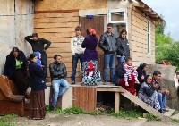 В Плеханово продолжается снос незаконных цыганских построек, Фото: 66
