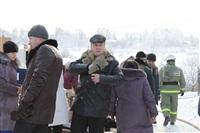 Пожар в жилом бараке, Щекино. 23 января 2014, Фото: 11
