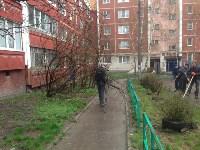 Субботник во дворе дома №19 по ул. Кирова, Фото: 4