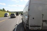В жутком ДТП на М2 под Тулой сгорели три авто: двое погибли, Фото: 11