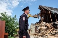 Плеханово, итоги дня: В таборе принудительно снесли первые 10 домов, Фото: 10