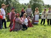 В Ясной Поляне прошел фестиваль молодежных фольклорных ансамблей «Молодо-зелено», Фото: 19