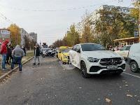 Массовое ДТП на ул. Металлургов, Фото: 6