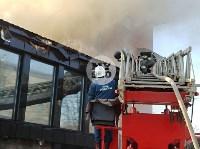 Пожар в пиццерии на Красноармейском, Фото: 21