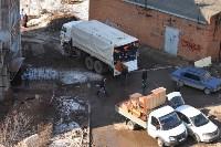 У дома, поврежденного взрывом в Ясногорске, демонтировали опасный угол стены, Фото: 31