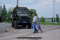 В Плеханово начали сносить дома в цыганском таборе, Фото: 23