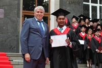 Владимир Груздев поздравил выпускников магистратуры ТулГУ, Фото: 72