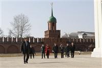 Пресс-конференция, посвященная реконструкции Тульского кремля. 11 марта 2014, Фото: 1