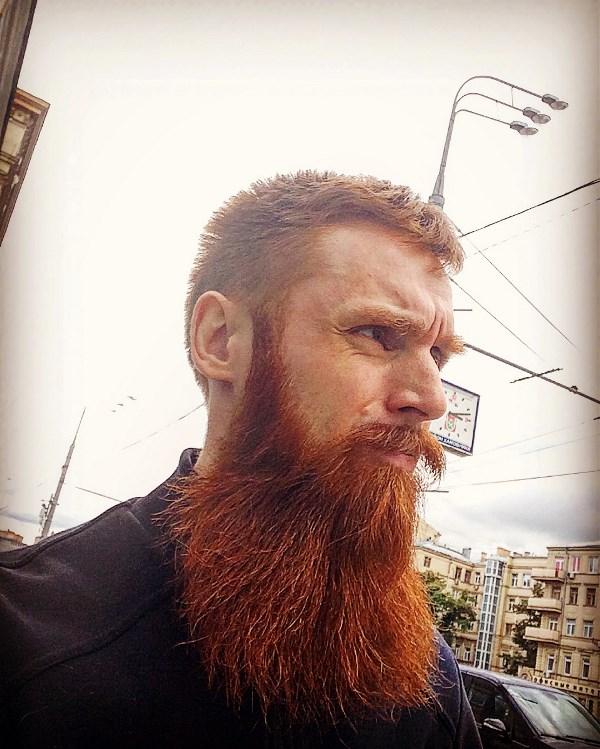 Борода в большом городе!