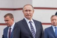 Путин в Суворовском училище, Фото: 40