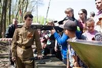 В Центральном парке воссоздали боевой подвиг советских солдат, Фото: 7