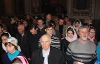 Пасхальная служба в Успенском соборе. 20.04.2014, Фото: 47