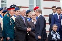Путин в Суворовском училище, Фото: 75