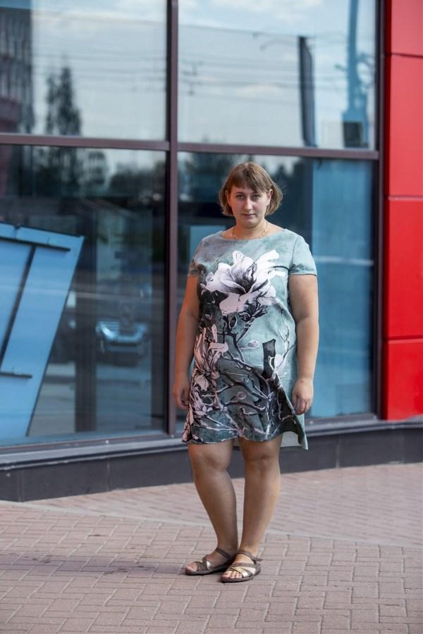 Анна Калиничева, 31 год. Рост 165 см, вес 92 кг.