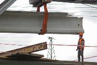 Восточный обвод: Строительство моста через Упу, Фото: 9
