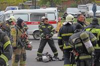 Тульские пожарные провели соревнования по бегу на 22-этаж, Фото: 8