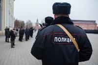 Митинг сотрудников ОВД в Тульском кремле, Фото: 79