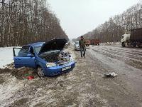 На дороге «Тула-Новомосковск» Ford протаранил Chevrolet, Фото: 4