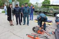 Тульские спасатели провели урок для юнармейцев, Фото: 11
