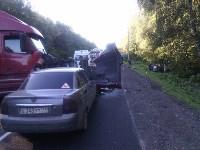 Тройное ДТП на М-2 Крым, Фото: 7