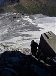 Подъем по отвесной скале на вершину  (3272 м)., Фото: 64