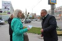 Сергей Шестаков поздравляет тулячек с наступающим днем города, Фото: 1